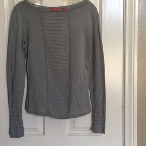 Anne Klein grey blouse